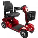 INVACARE Leo (4 ruedas) scooter de movilidad en rojo