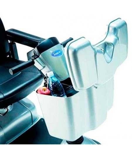 Maletero delantero con cierre INVACARE accesorio para Scooter Comet HD o Alpine
