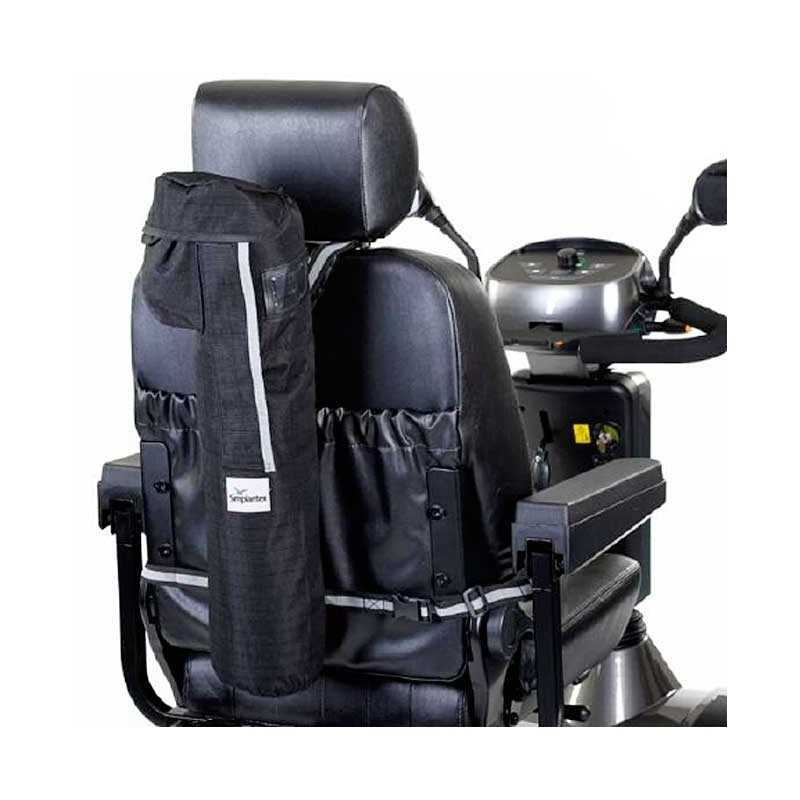 Soporte para bombona oxigeno SUNRISE accesorio para Scooter Serie S