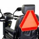 Triángulo de señalización de emergencias SUNRISE accesorio para Scooter Serie S