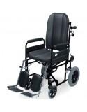 Silla de ruedas en acero IM Confort PC-15 ruedas traseras pequeñas