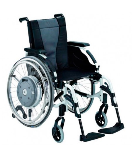 INVACARE Action 3 con Sistema Alber Emotion M-15 silla de ruedas en aluminio