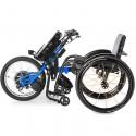 BATEC Handbike Eléctrico y Silla de ruedas ultraligera Rogue ALX en azul