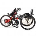 BATEC Handbike Eléctrico y Silla de ruedas ultraligera Rogue ALX en rojo