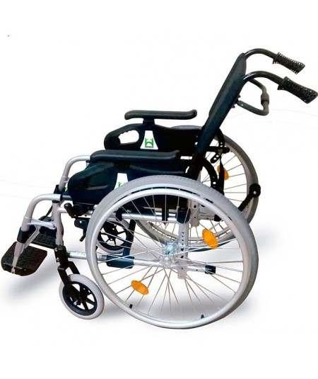Silla de ruedas en aluminio DROMOS Recliner
