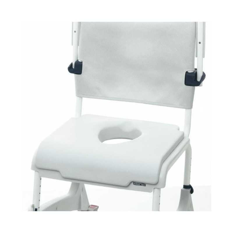 Cojín de asiento confort con abertura oval para sillas INVACARE Aquatec Ocean