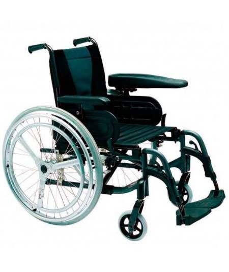 INVACARE Action 3 Doble aro (Hemiplejia) Silla de ruedas en aluminio