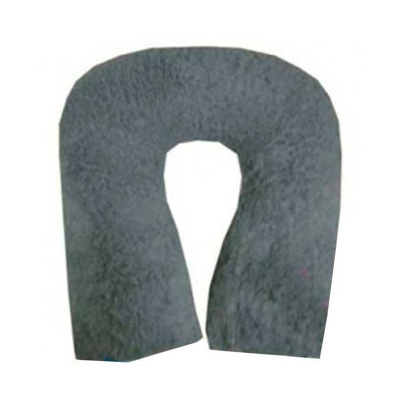 Cojín antiescaras de suapel Sanitized herradura redonda en gris. UBIO