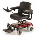 DRIVE Cobalt silla de ruedas eléctrica rojo