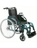 Silla de ruedas en aluminio INVACARE Action 3 con palanca conducción (Hemaplejia)