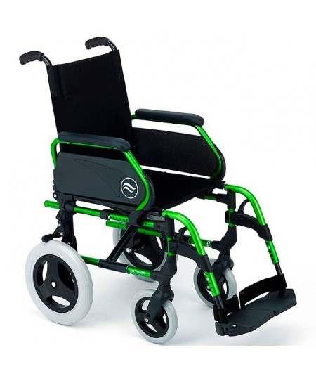 SUNRISE Breezy 300 silla de ruedas en aluminio con respaldo Standar ruedas traseras pequeñas