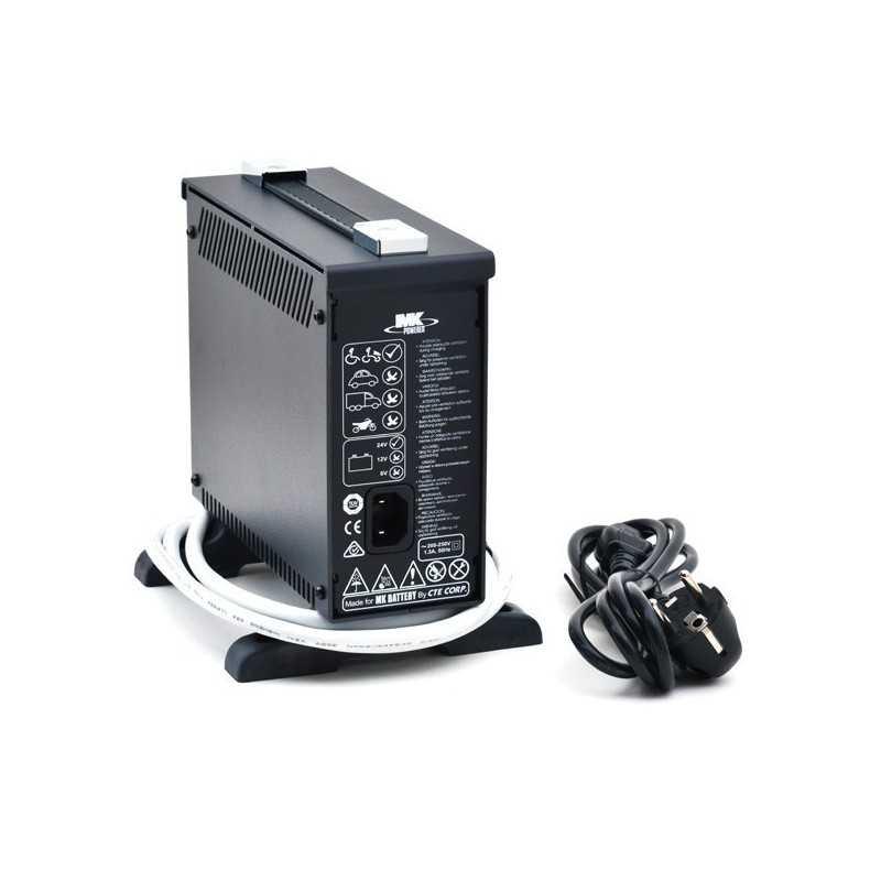 Cargador MK Baterías 8 AMP.
