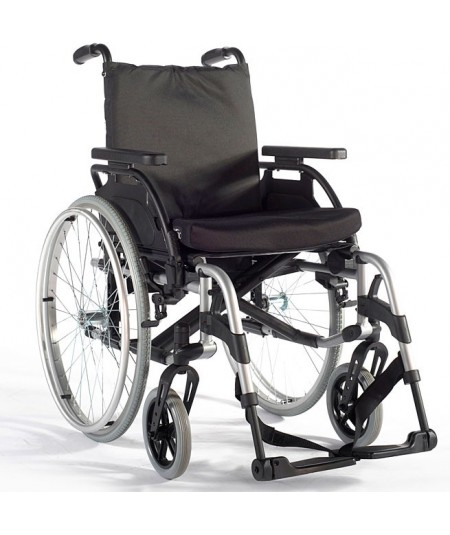 SUNRISE Breezy BasiX 2 (Standar con respaldo fijo) silla de ruedas en aluminio