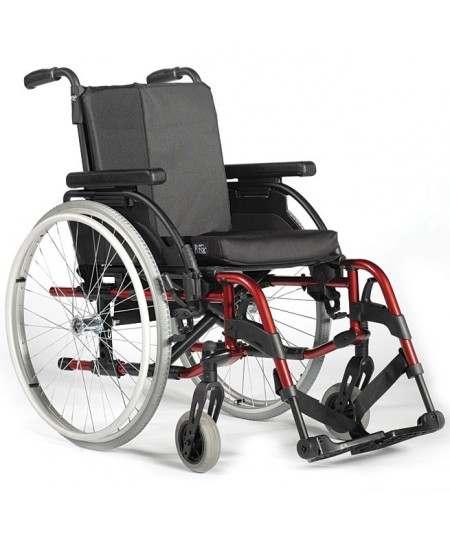 SUNRISE Breezy RubiX 2 XL (reforzada) silla de ruedas en aluminio