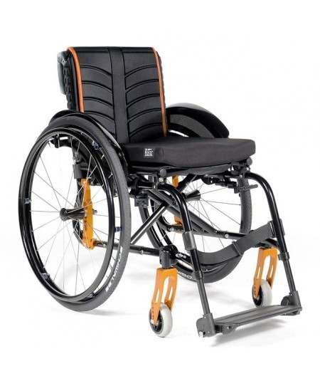 SUNRISE Quickie Life silla de ruedas en aluminio con reposapiés fijos
