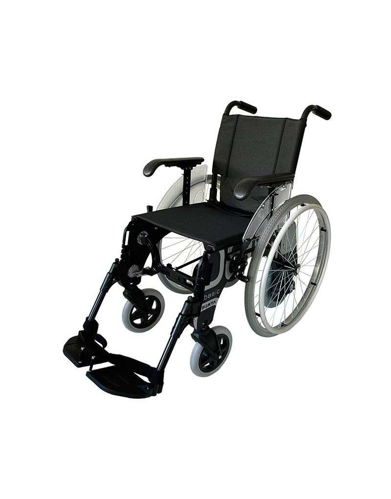 FORTA Basic Dúo silla de ruedas en aluminio. Ruedas traseras intercambiables