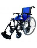 FORTA Line Dúo silla de ruedas en aluminio. Ruedas traseras intercambiables