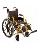 COSMOMEDICA ORT22037 Silla de ruedas en acero plegable para niños