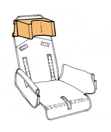 Reposacabezas en forma de U REHAGIRONA Rehatom 4 accesorio para silla pc