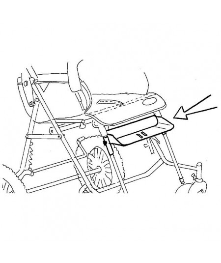 Reposapiés cortos REHAGIRONA Rehatom 4 accesorio para silla pc