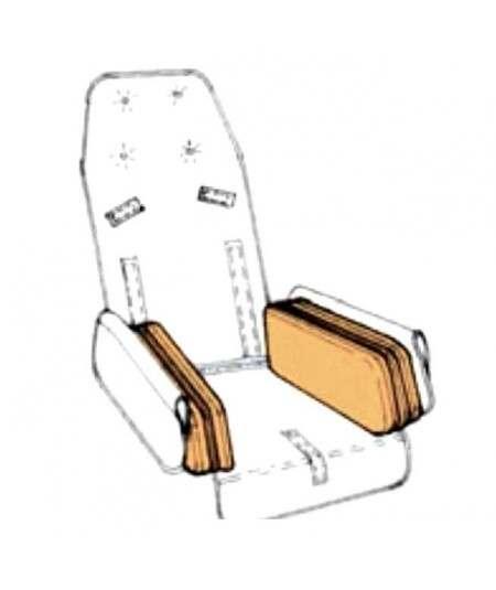 Acolchados reducción asiento REHAGIRONA Rehatom 4 accesorio para silla pc (par)