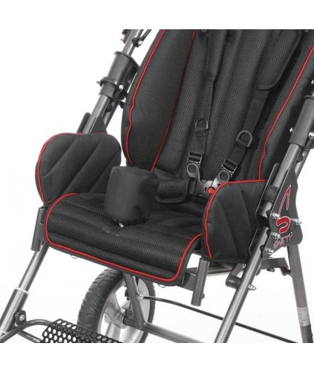 Cuña abductora, color negro SUNRISE Swifty accesorio para silla pc