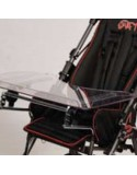 Bandeja transparente SUNRISE Swifty accesorio para silla pc