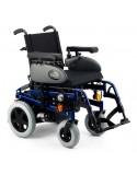 SUNRISE Salsa Rumba (estándar) silla de ruedas eléctrica azul