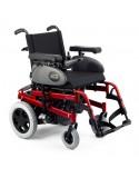 SUNRISE Salsa Rumba (estándar) silla de ruedas eléctrica roja