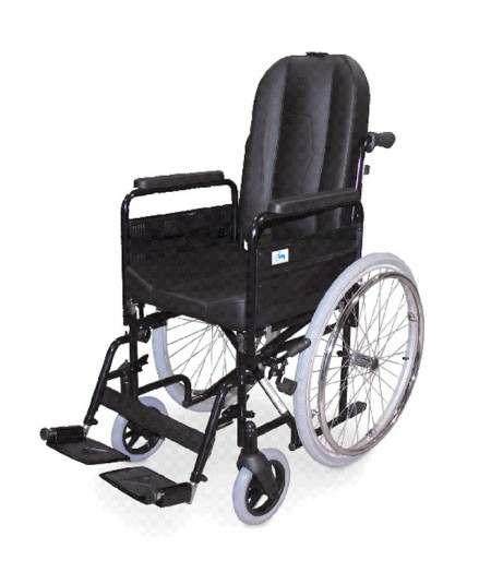 Silla de ruedas en acero IM Confort PC-31