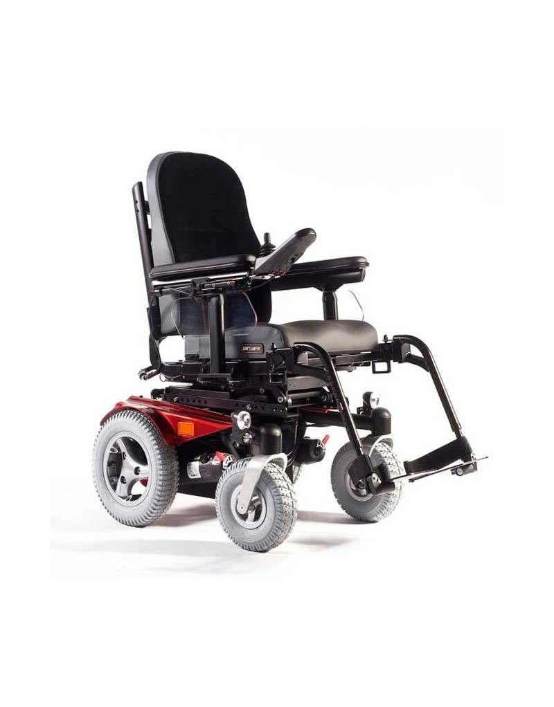 SUNRISE Jive (estándar) silla de ruedas eléctrica en rojo