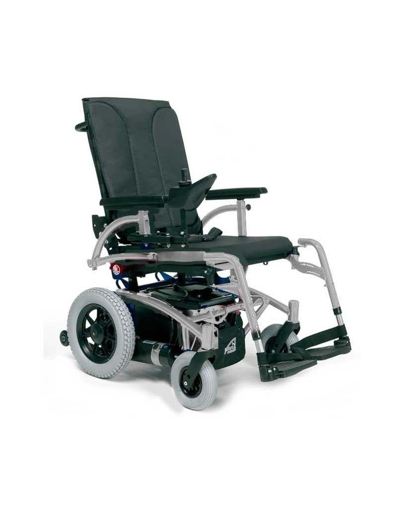 VERMEIREN Navix (tracción trasera) silla de ruedas eléctrica gris