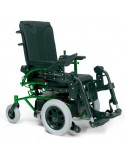 VERMEIREN Navix (tracción delantera) silla de ruedas eléctrica verde