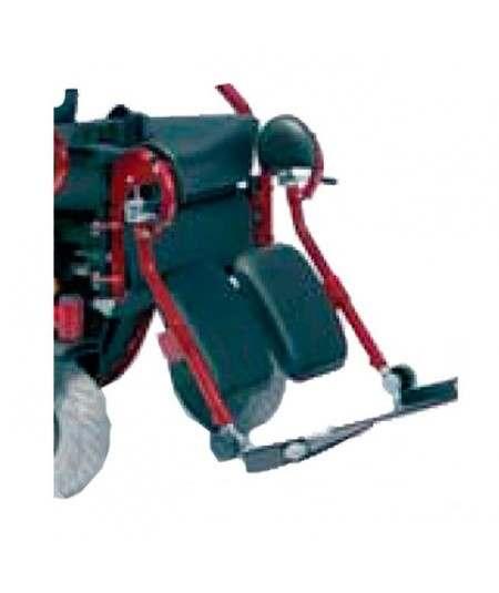 Reposapiés elevables manuales (par) VERMEIREN accesorio para silla de ruedas eléctrica Forest 3