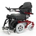 VERMEIREN Timix SU bipedestación silla de ruedas eléctrica en rojo