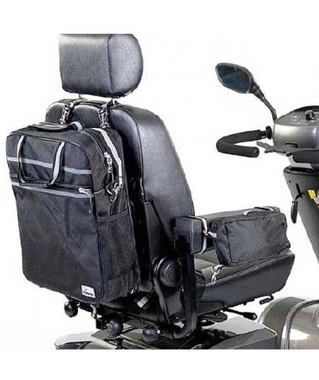 Mochila y bolsillo portaobjetos SUNRISE accesorio para Scooter Serie S
