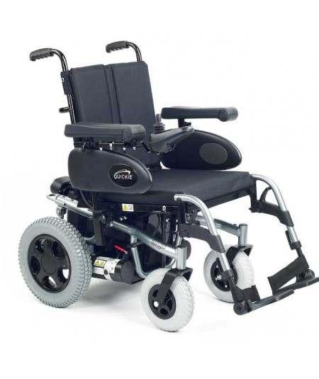 SUNRISE Tango (configurada) silla de ruedas eléctrica en gris selenio