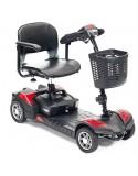 DRIVE Scout 4 Ruedas (baterías de 12 amperios hora) scooter de movilidad  en rojo
