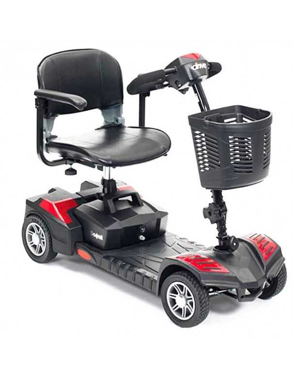 DRIVE Scout 4 Ruedas (baterías de 12 amperios hora) scooter de movilidad