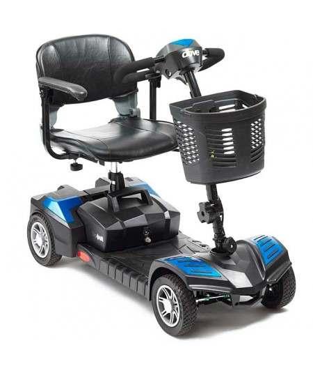 DRIVE Scout 4 Ruedas (baterías de 20 amperios hora) scooter de movilidad  en azul