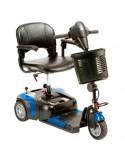 DRIVE Prism 3 Ruedas (baterías de 12 amperios hora) scooter de movilidad en azul eléctrico