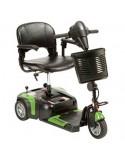 DRIVE Prism 3 Ruedas (baterías de 12 amperios hora) scooter de movilidad en verde