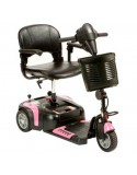 DRIVE Prism 3 Ruedas (baterías de 12 amperios hora) scooter de movilidad en rosa