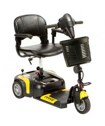 DRIVE Prism 3 Ruedas (baterías de 12 amperios hora) scooter de movilidad en amarillo