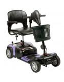 DRIVE Prism 4 Ruedas (baterías de 12 amperios hora) scooter de movilidad en morado