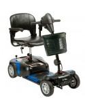 DRIVE Prism 4 Ruedas (baterías de 12 amperios hora) scooter de movilidad en azul