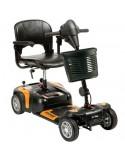 DRIVE Prism 4 Ruedas (baterías de 12 amperios hora) scooter de movilidad en naranja