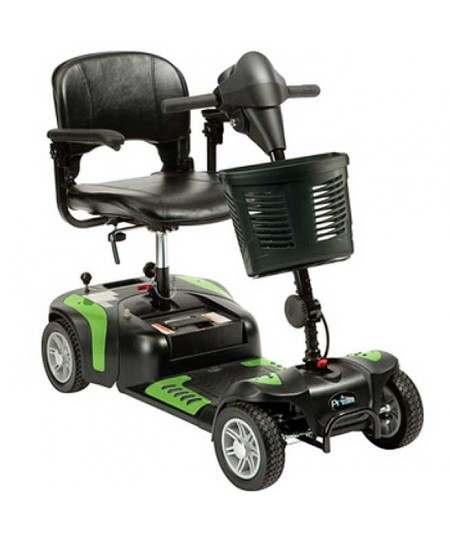 DRIVE Prism 4 Ruedas (baterías de 12 amperios hora) scooter de movilidad en verde