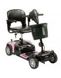 DRIVE Prism 4 Ruedas (baterías de 12 amperios hora) scooter de movilidad en rosa