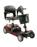 DRIVE Prism 4 Ruedas (baterías de 12 amperios hora) scooter de movilidad en rojo